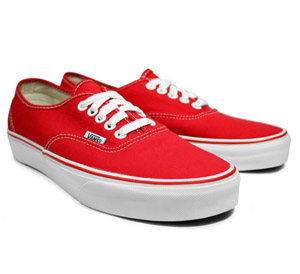 1030817318ed all red vans slip ons Sale